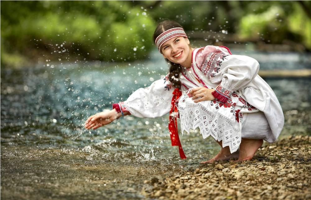 Настоящая русская красавица, естественная и нежная. Самая красивая
